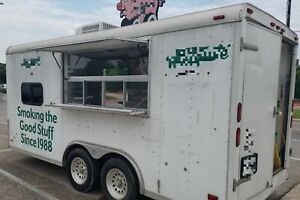Used 2008 7 X 16 5 Food Concession Trailer With Loaded Kitchen For Sale In T