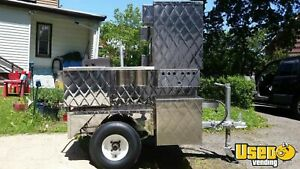 Custom Classic Style Hot Dog Food Vending Cart For Sale In New Jersey