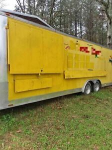 Mobile Kitchen Food Concession Trailer For Sale In Mississippi