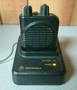 Motorola Minitor Iv 4 Vhf Stored Voice Pager 151 159 Mhz 2 Channels