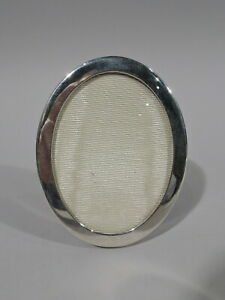 Tiffany Frame Picture Photo Small Modern Oval American Sterling Silver