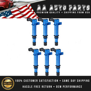 6 High Performance Ignition Coils For 02 08 Jeep Liberty Commander V6 3 7l Uf270