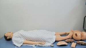 Laerdal Nursing Anne 325 05050 Medical Simulator Full Body Manikin W Accessories