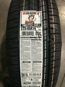 4 New 225 65 16 Uniroyal Tiger Paw Awp3 Tires