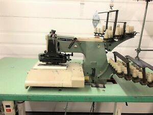 Kansai Dfb 1425p 25 Needle Chainstitch With Puller Industrial Sewing Machine