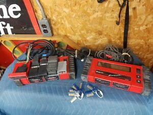 Snap On Mt2500 Diagnostics Scanner Lot 2 Scanners And Many Accessories
