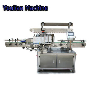 Mt 500 Automatic Double sided Square round Bottle Labeling Machine 2 In1
