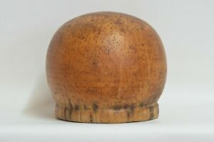 Size 22 Wooden Hat Block Mold Form Millinery Head Style Form Display