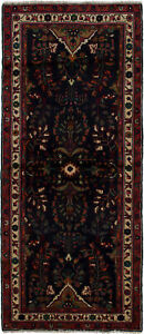 Hand Knotted Carpet 3 4 X 8 0 Traditional Vintage Wool Rug