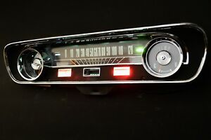 1965 Ford Mustang Instrument Speedometer Gauge Cluster Restored