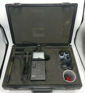 Orion 210a Digital Ph Temperature Meter Thermo Research With Case Accessories