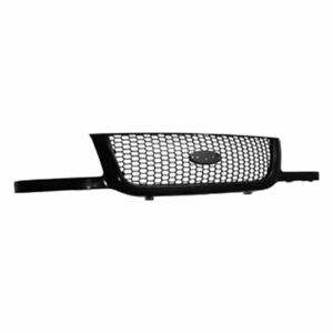 For 2001 2002 2003 Ford Ranger Front Grille Dark Argent Mesh Type