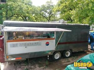 Used Food Concession Trailer With Gooseneck Hitch For Sale In Texas