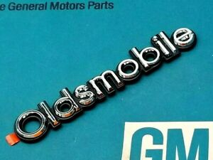 Nos 77 90 Oldsmobile Trunk Emblem Cutlass 442 Delta Regency Ornament Deck Lid