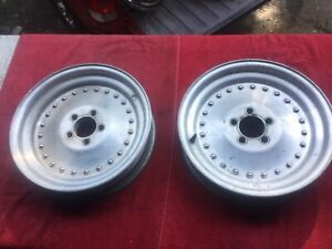 Vintage 1970 S Centerline 15x3 1 2 Racing Wheels Early Mopar 5 X 4 Bolt Pattern