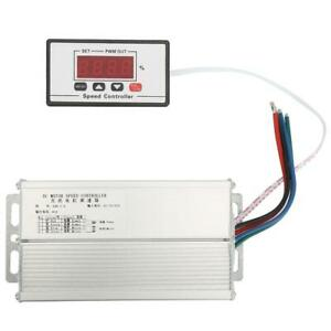 Adjustable Dc12 60v Digital Display Pwm Motor Speed Regulator Power Controller G