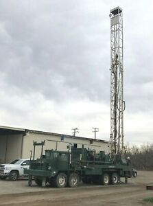 Gardner Denver 1500 Water Well Drill Rig And Accessories