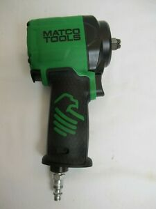 Matco Mt2765 1 2 Stubby Pneumatic Air Impact Wrench Green