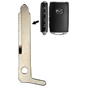 New Smart Remote Key Keyless Uncut Replacement Blade Blank For Mazda Bcya 67 5dy