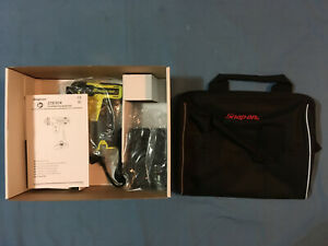 New Snap On Lithium Ion Cts761ahv 14 4 V 1 4 Hex Cordless Screwdriver Open Box
