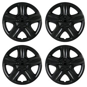 Wheel Covers Hubcaps Fits 2006 2013 Chevrolet Impala 16 Gloss Black Set Of 4