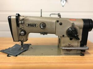 Pfaff 438 German Made Zig Zag Reverse 110 Volt Unit Industrial Sewing Machine
