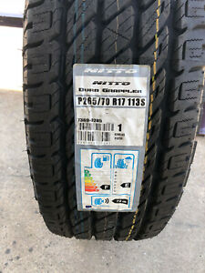 4 New 265 70 17 Nitto Dura Grappler H T Tires