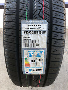 4 New 235 55 19 Nitto Nt421 Q Tires