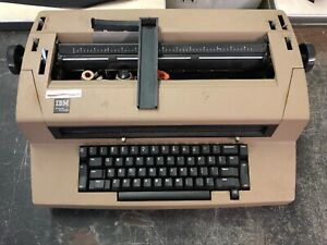 Vintage Ibm Correcting Selectric Iii Typewriter Beige Parts Or Repair