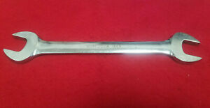 Snap On 22mm 24mm Open End Chrome Large Wrench Vom2224 Rare