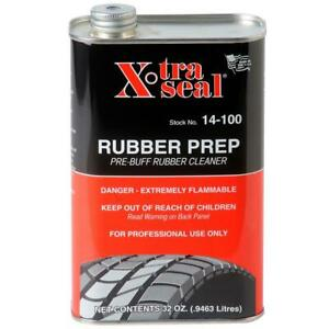 Xtra Seal 14 100 32oz F Liquid Tire Buffer Pre Buff Tire Cleaner Solution