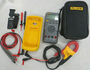 Fluke 87 V True Rms Multimeter And I400 Ac Current Clamp
