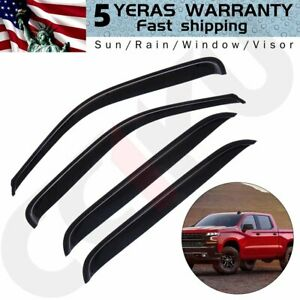 For 1999 2002 Honda Civic Sedan Firm Acrylic Rear Window Sun Visor Spoiler Wing