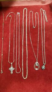 Sterling Silver Jewelry Lot 33 Grams 6 Peices