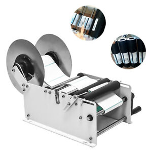 High Quality Manual Round Bottle Labeling Machine Labeler Label Sticker