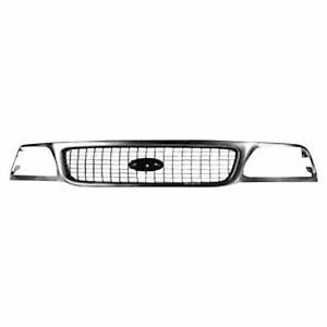 For 1999 2000 2001 2002 Ford Expedition Grille Xlt Model Chrome