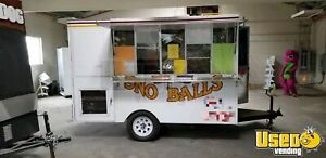 2003 7 X 10 7 Used Shaved Ice Concession Trailer For Sale In California