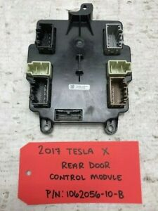 17 Tesla Model X Rear Falcon Door Control Module Ecu Computer 1062056 10 b 15 19
