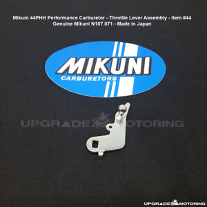 Mikuni 44phh Perf Carburetor Throttle Lever Assembly N107 071 Datsun Solex
