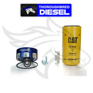Sinister Diesel Cat Fuel Filter Adapter Kit For 6 6l Duramax Sd cat dmax