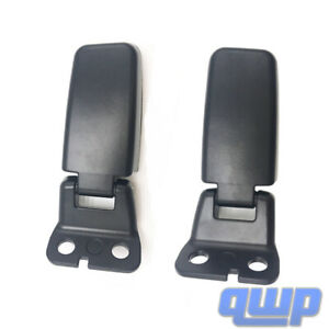 pair Right Left Liftgate Window Glass Hinge For Nissan Armada Infiniti Qx56
