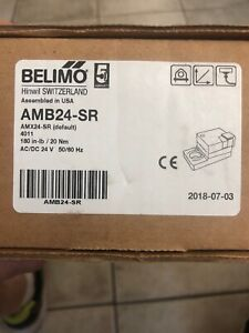 Belimo Amb24 sr Actuator Ships On The Same Day Of The Purchase Nib