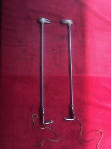 Vintage 1930 s 40 s 50 s Accessory Lighted Clamp On Fender Guides Custom Sled