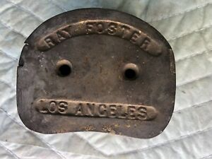 Ray Foster Los Angeles Bronze Flask Denture dentistry Equip