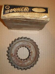 60 62 Ford 61 62 Mercury 3 Speed Transmission 1rst Reverse Sliding Gear