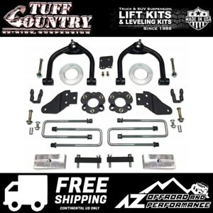 Tuff Country 4 Spacer Block Uca Lift Shock Ext Fits 16 19 Nissan Titan Xd 4wd