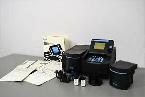 Hach Dr4000u Uv vis Spectrophotometer Must See Many Extras With Warranty