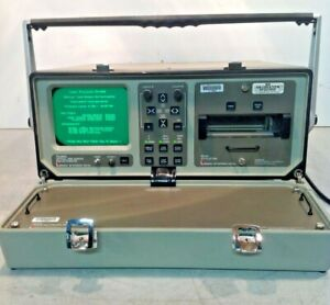 Laser Precision Td9950 Optical Time Domain Reflectometer W Td 952 X y Plotter
