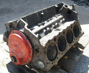 Chevy 1967 327 Engine Block L226 3892657 Corvette Camaro Nova Chevelle J15925
