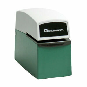 Acroprint Et heavy Duty Document Control Stamp Wiith Keys Free Shipping